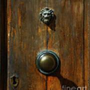 Tuscan Doorknob Art Print