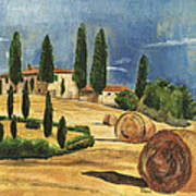 Tuscan Dream 2 Print by Debbie DeWitt