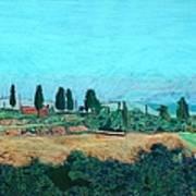 Tuscan Farm Art Print