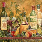 Tuscan In Vino Veritas Art Print