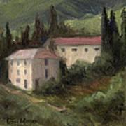 Tuscan Landscape II Art Print