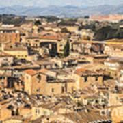 Tuscan Rooftops Siena Art Print