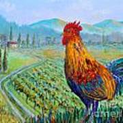 Tuscan Rooster Art Print