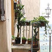 Tuscan Staircase Art Print