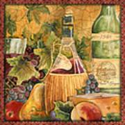 Tuscan Wine-c Art Print