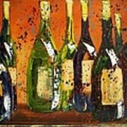Tuscan Wine Art Print