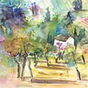 Tuscany Landscape 05 Art Print