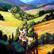 Tuscany Art Print by Michael Swanson