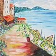 Tuscany Seaside Art Print