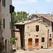 Tuscany Street Art Print