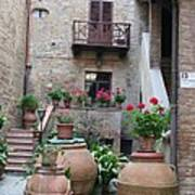 Tuscany Yard Art Print