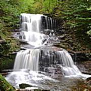 Tuscarora Falls Art Print