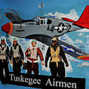 Tuskegee Airmen Art Print