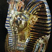 Tutankamon's Golden Mask Art Print