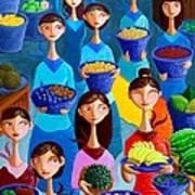 Tutti Frutti Art Print by Paul Hilario