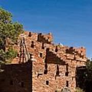 Tuzigoot Native American Ruins Arizona 1 Art Print