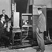 Tv Demonstration At Bell Labs Art Print