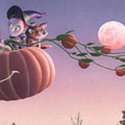 Twilight Flight Art Print