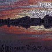 Twilight In Pasco Art Print