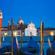 Twilight In Venice  Art Print