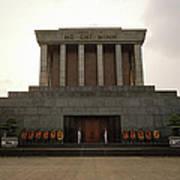 Twilit Ho Chi Minh Mausoleum Art Print