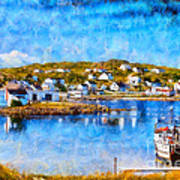 Twillingate In Newfoundland Art Print