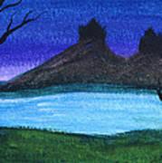 Twin Castles Art Print