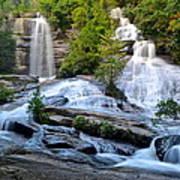 Twin Falls South Carolina Art Print