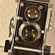 Twin Lens Reflex Redux Art Print