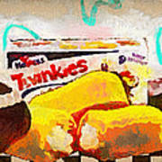 Twinkies Cupcakes Ding Dongs Gone Forever Art Print