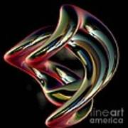 Twisted Abstract 2 Art Print