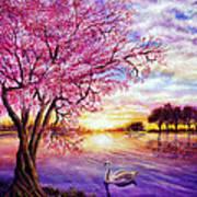 Twisted Blossom Art Print by Ann Marie Bone