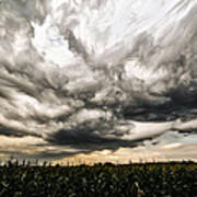 Twisted Sky Art Print by Matt Molloy