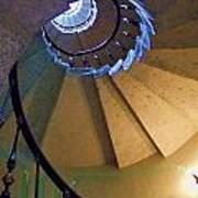 twisted stairs Vizcaya Art Print
