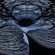 Twisted Tree Art Print by Jean Noren
