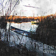 Two At The Dock Art Print