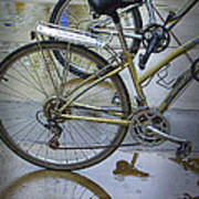 Two Bicycles Art Print