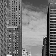 Two Chicago Classics- Carbide And Carbon And Wrigley Building Art Print by Christine Till