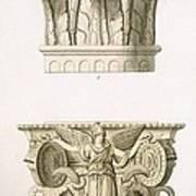 Two Column Capitals Art Print