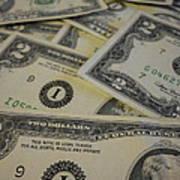 Two Dollar Bills Art Print