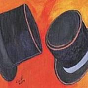 Two Hats Art Print