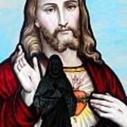 Two Jesuses Art Print