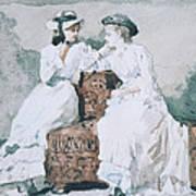 Two Ladies Art Print