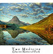 Two Medicine Lake Sunrise Art Print