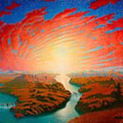Two Rivers Art Print