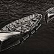 Two Row Boats Art Print