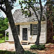 Two Tree Cottage Art Print
