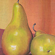 Two Yellow Pears Blenda Studio Art Print