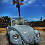 Tybee Island Beach Bug 002 Art Print