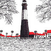 Tybee Island Lighthouse Art Print